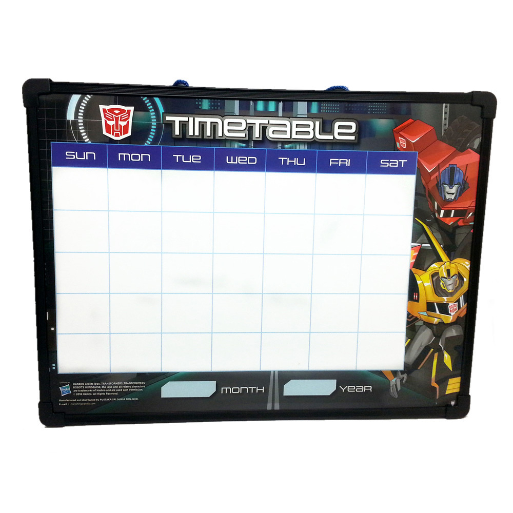 TRANSFORMERS PRIME & BEE BLACK WHITEBOARD-12294