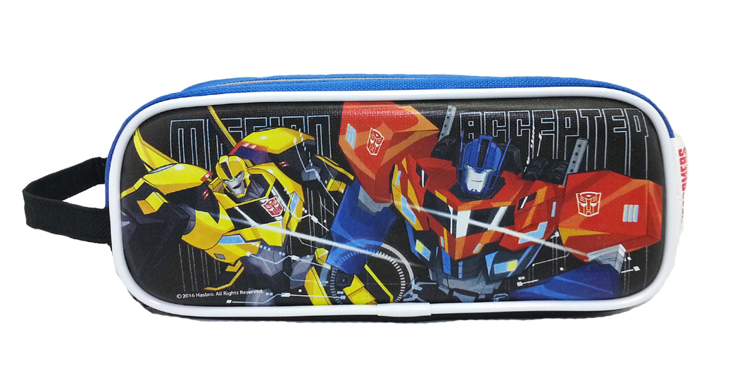 TRANSFORMER MISSION ACCEPTED SQUARE PENCIL BAG-0