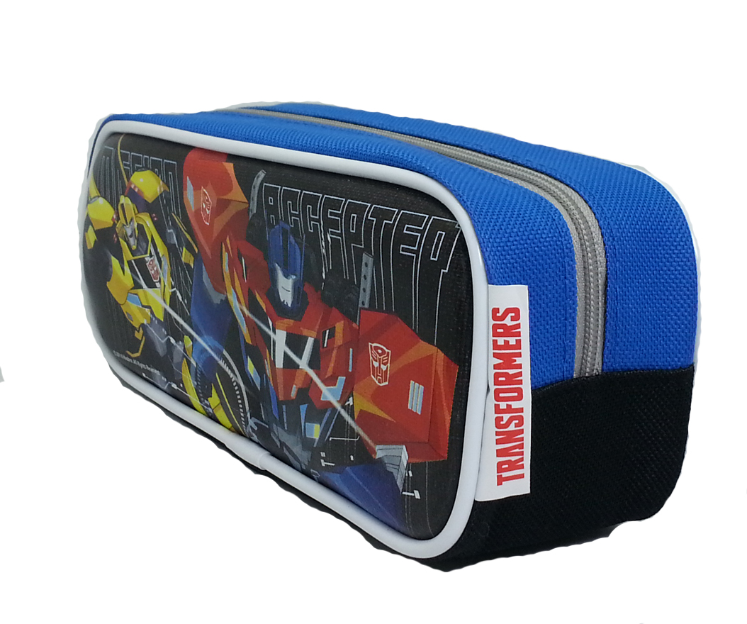 TRANSFORMER MISSION ACCEPTED SQUARE PENCIL BAG-8002