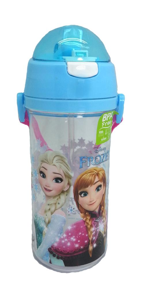 DISNEY FROZEN SISTER BLUE 600ML TRITAN BOTTLE * BPA FREE-0