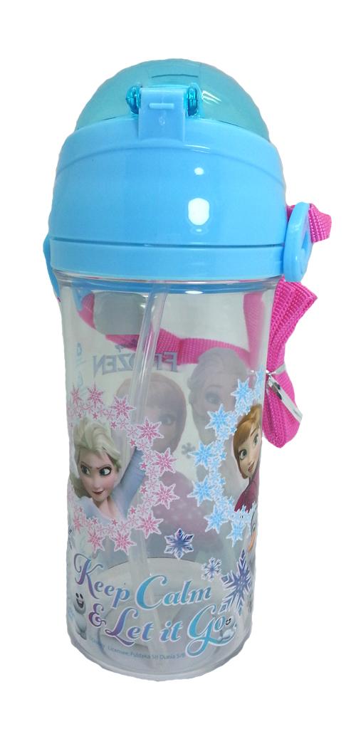 DISNEY FROZEN SISTER BLUE 600ML TRITAN BOTTLE * BPA FREE-8312
