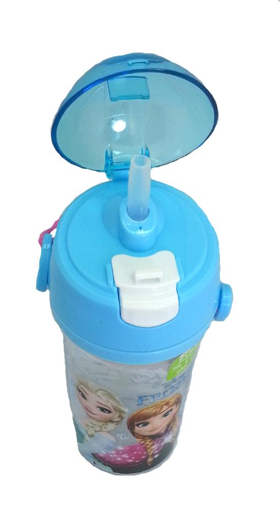 DISNEY FROZEN SISTER BLUE 600ML TRITAN BOTTLE * BPA FREE-8313
