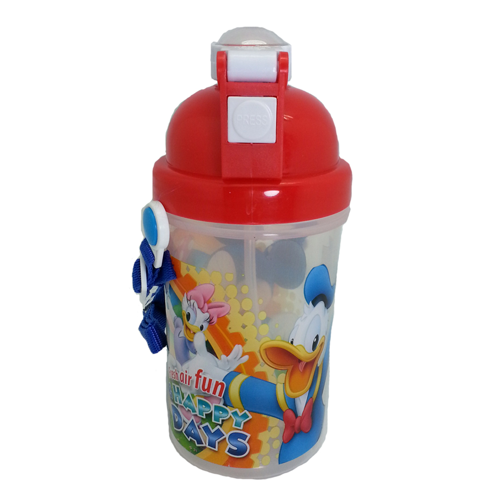 DISNEY MICKEY & FRIENDS LUNCH BOX WITH BOTTLE * BPA FREE-10944