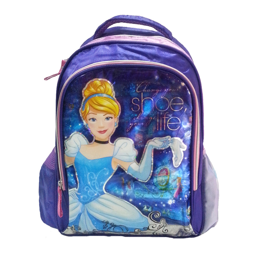 DISNEY PRINCESS CINDERELLA LIFE SCHOOL BAG-0