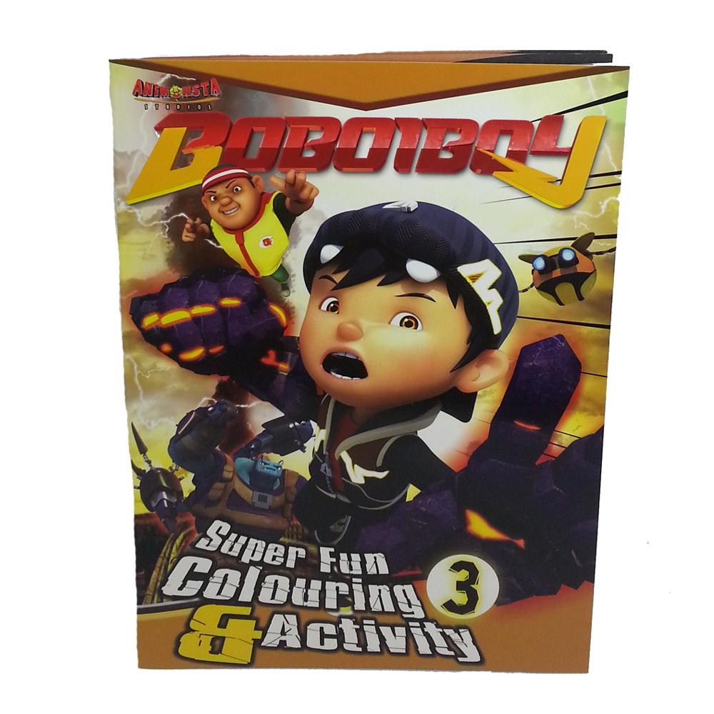 BOBOIBOY COLORING & ACTIVITY BOOK 3-0