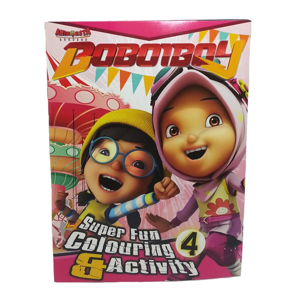 BOBOIBOY COLORING & ACTIVITY BOOK 4-0