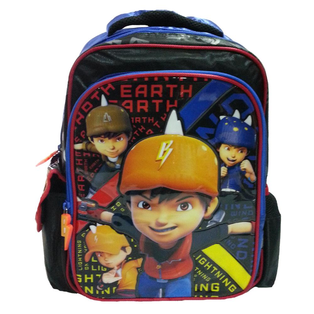 BOBOIBOY GALAXY HEROES PRE SCHOOL BAG-0