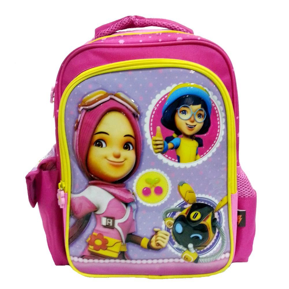 BOBOIBOY YAYA & YING PRE SCHOOL BAG-0