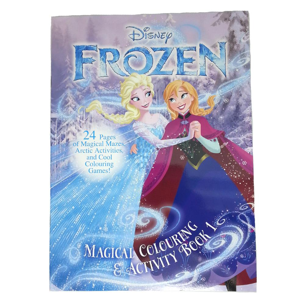 DISNEY FROZEN MAGICAL COLORING & ACTIVITY BOOK 1-0